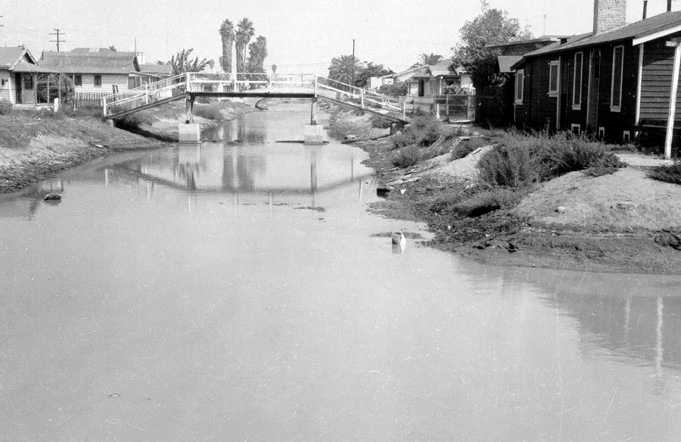 Canal Corner - before 1985