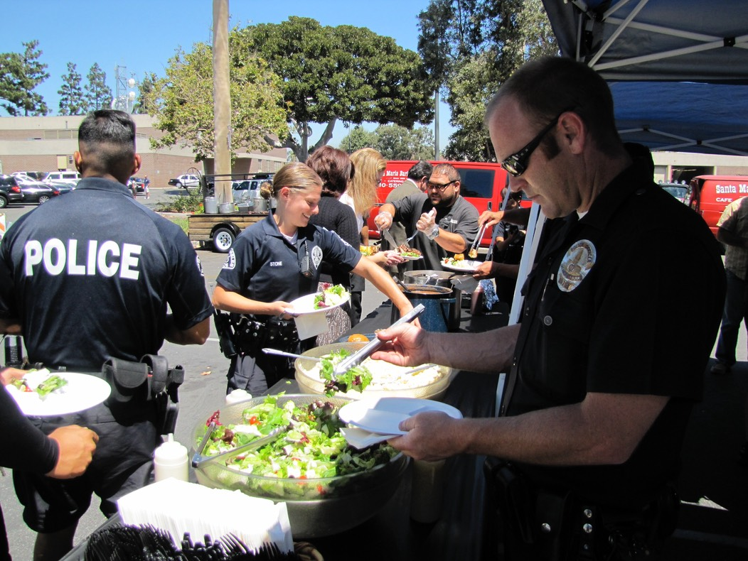 Santa Maria Barbecue Provided by Community
